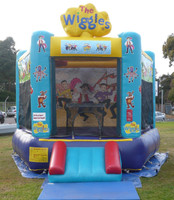 Jumping Castles for Hire - Wiggles