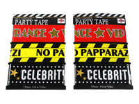 Hollywood Assorted Party Tape Pk3