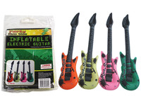 106cm Inflatable Electric Guitar Pink