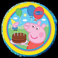 Peppa Pig Plates Pk8