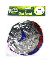 Round Foil Garland