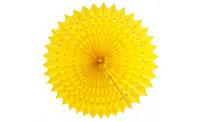 Paper Fan 50cm Yellow