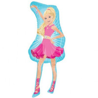 Barbie Supershape Foil Balloon
