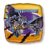 45cm Batman 'Happy Birthday' Foil Balloon