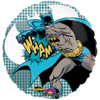 66cm Batman See-Thru Balloon