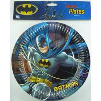 Batman Paper Plates Pk 8