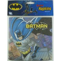 Batman Napkins Pk 16