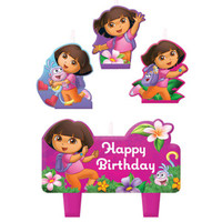 Dora Birthday Candle Set
