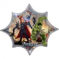 The Avengers Super/Shape Thor, Hulk and Captain