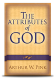 Attributes of God : A.W. Pink Front Cover