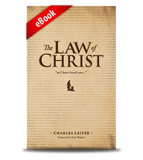 Law of Christ eBook front cover image