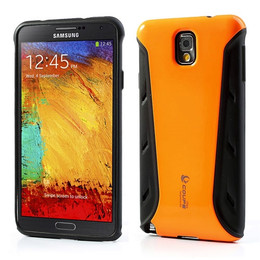Samsung Galaxy Note 3 Shock Proof Shell Case Orange
