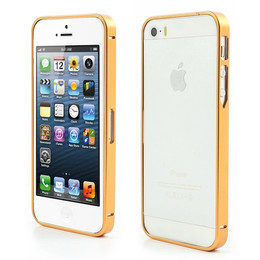 iPhone 5s Gold Bumper Case