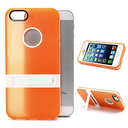 iPhone 5S Silicone Skin+Bumper Orange