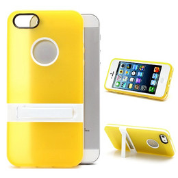 iPhone 5S Silicone Skin+Bumper Yellow