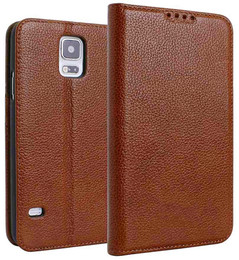 Samsung S5 Neo Real Leather