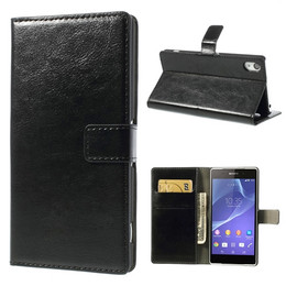 Sony Xperia z2 leather wallet case