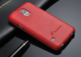 Samsung S5 flip case red
