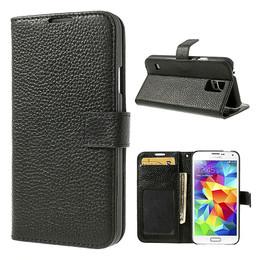 Samsung s5 ID wallet case black