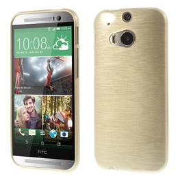 HTC one M8 skin gold