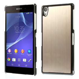 Sony xperia z2 cover gold