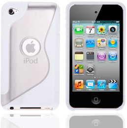 iPod Touch 4G S Design Gel Case White