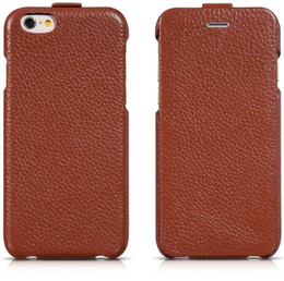 iPhone 6 Leather Flip Case