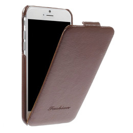 iPhone 6 Leather Flip Cover