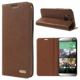 HTC One M8 flip cover