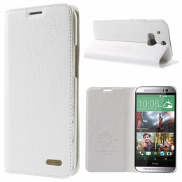 HTC One M8 Leather Folio