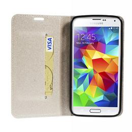 Samsung S5 Neo Wallet Gold