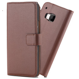 HTC M9 Cover Leather