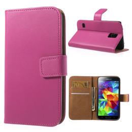 Samsung S5 Wallet Pink