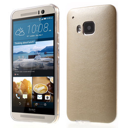 HTC M9 Cover Gold