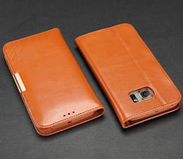 Samsung S6 Edge Plus Leather Case