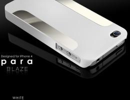 More iPhone 4S 4 Para Blaze Slim Case White
