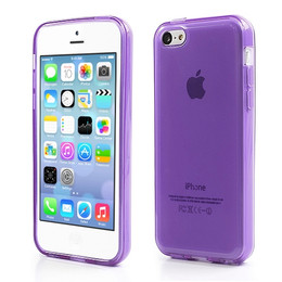 iPhone 5C Cover Purple