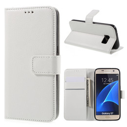 Samsung S7 White Leather