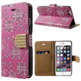 iPhone SE Glitter Wallet