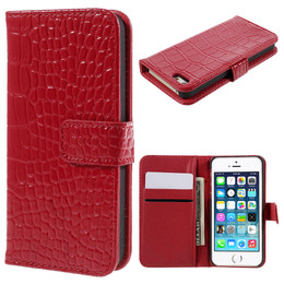 iPhone SE Crocodile Leather