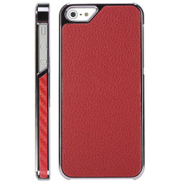 iPhone SE Leather Red