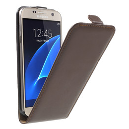 Samsung Galaxy S7 Leather Flip