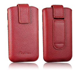 iPhone 4S Leather Pouch Case