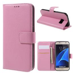 Samsung Galaxy S7 Wallet Pink