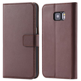 Samsung Galaxy S7 Wallet Brown