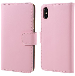 iPhone X Wallet Case Pink