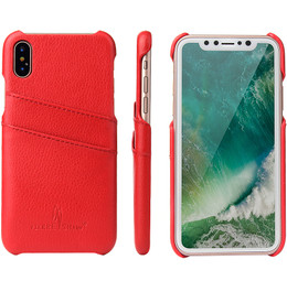 iPhone X Leather Cover
