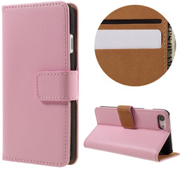 iPhone 8 Leather Case Pink