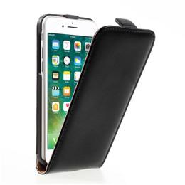 iPhone 8 Leather Flip Case