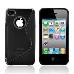 iPhone 4S 4 Wave Grip Case Black